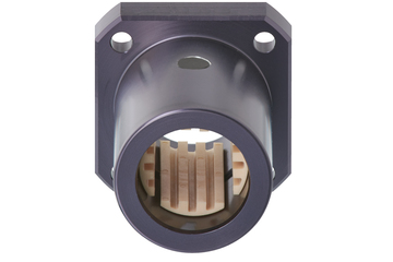 drylin® Q linear plain bearing with angular flange