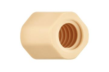 drylin® injection-moulded lead screw nuts, cylindrical, multi-start, thread: cut, JSRM