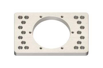 iglidur® PRT adapter plate for slewing ring