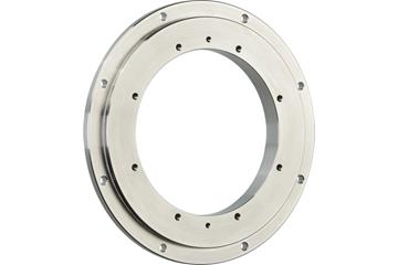 iglidur® slewing ring, PRT-04, sliding pads made from stainless steel, inner ring made from iglidur® A180
