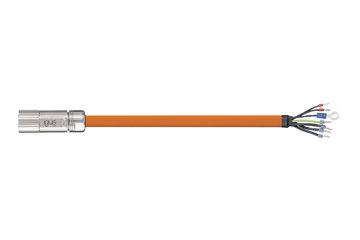 readycable® servo cable suitable for Beckhoff iZK4000-2112-xxxx, base cable PVC 15 x d
