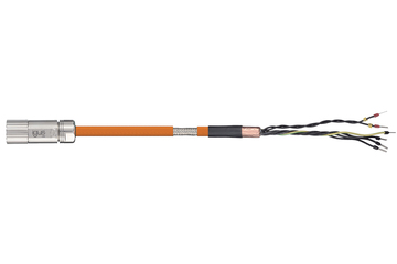 readycable® servo cable acc. to NUM standard AGOFRU019Mxxx, base cable, PVC 15 x d