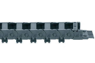 E2/000 Series 1400, energy chain, openable along the inner radius
