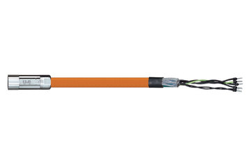 readycable® motor cable acc. to Parker standard iMOK45, base cable PUR 10 x d