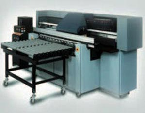 Flat bed inkjet printer
