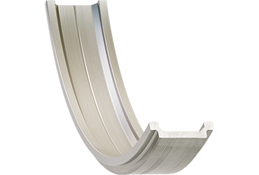 drylin curved profile guides