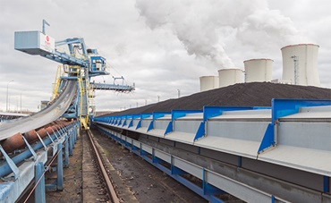 Lignite excavator with energy chains from igus®