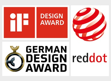 Logos IF, Red Dot, German Design Award