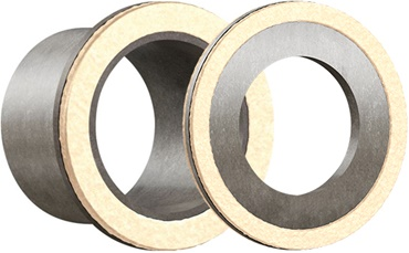 iglidur SG03 plain bearing and thrust washer with felt seal