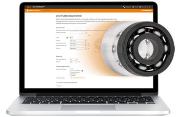 Service life calculation for xiros® ball bearings