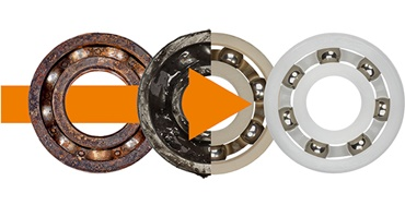 Tech up, Cost down with xiros® plastic ball bearings