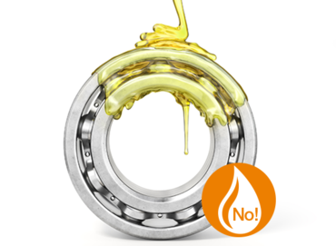 xiros® ball bearings are lubrication-free