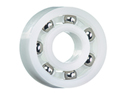 Grooved ball bearing - with xirodur® B180 cage
